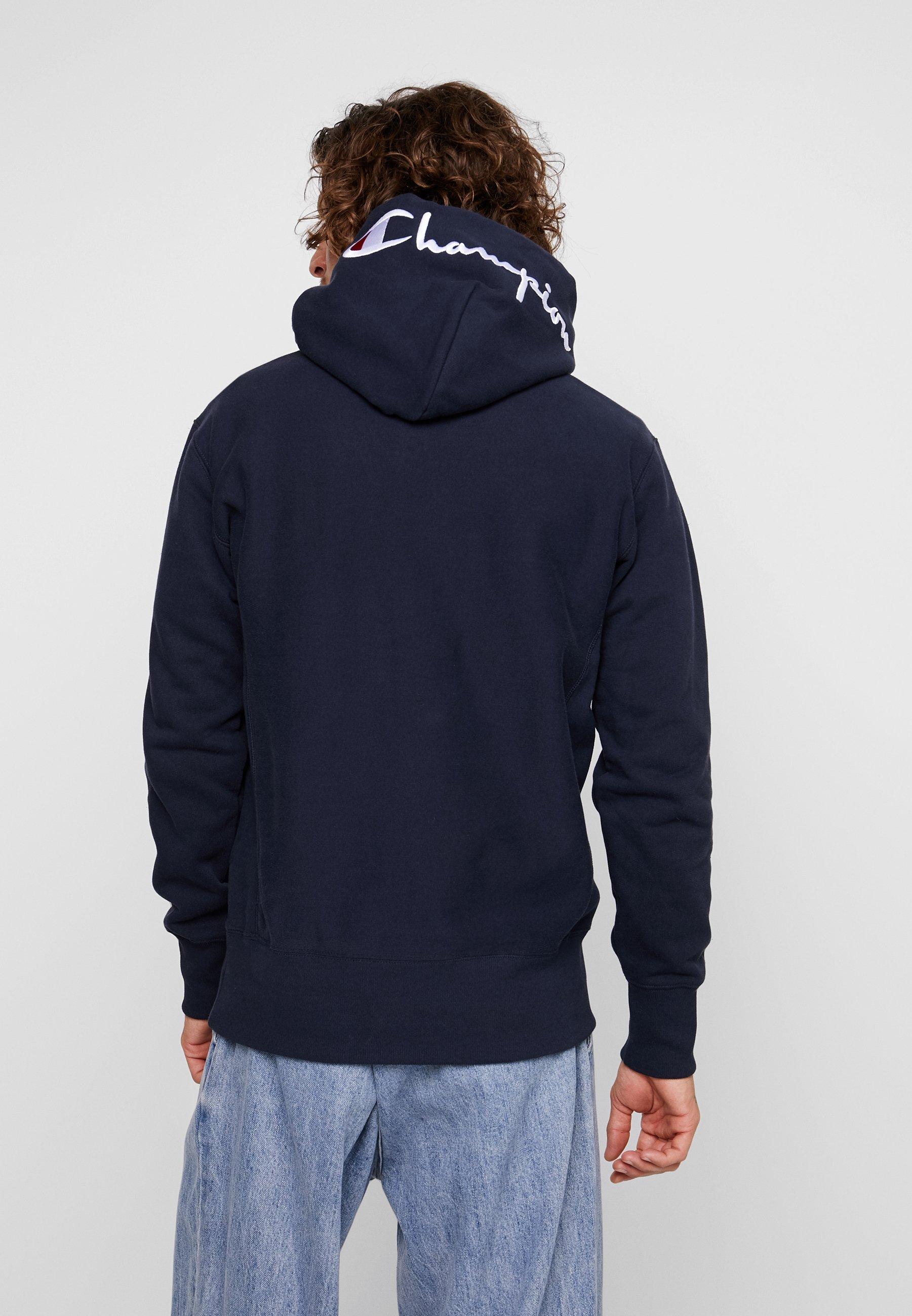 À Dark Blue Champion Capuche Reverse HoodedSweat Weave OXiTkPZwu