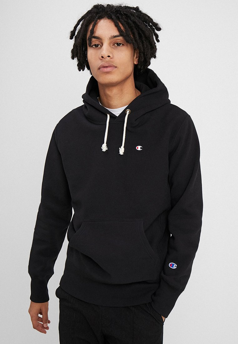 Champion Reverse Weave - HOODED - Hoodie - black