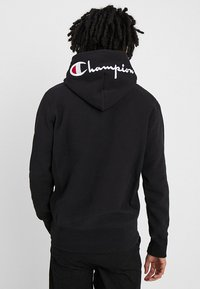 Champion Reverse Weave - HOODED - Huppari - black - 2