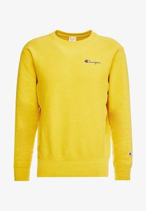 SMALL SCRIPT CREWNECK  - Sweatshirt - yellow