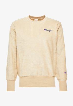 CREWNECK CORD - Sweatshirt - beige