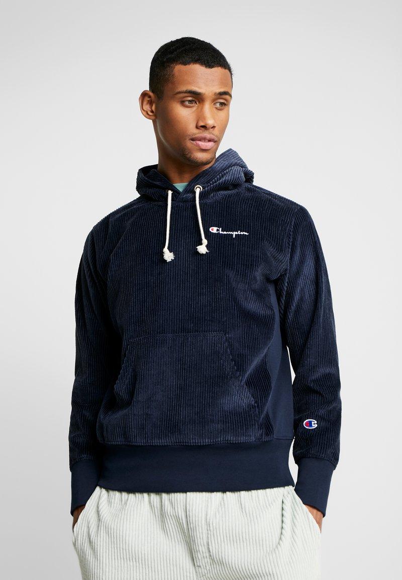 Champion Reverse Weave - HOODED CORD - Kapuzenpullover - dark blue