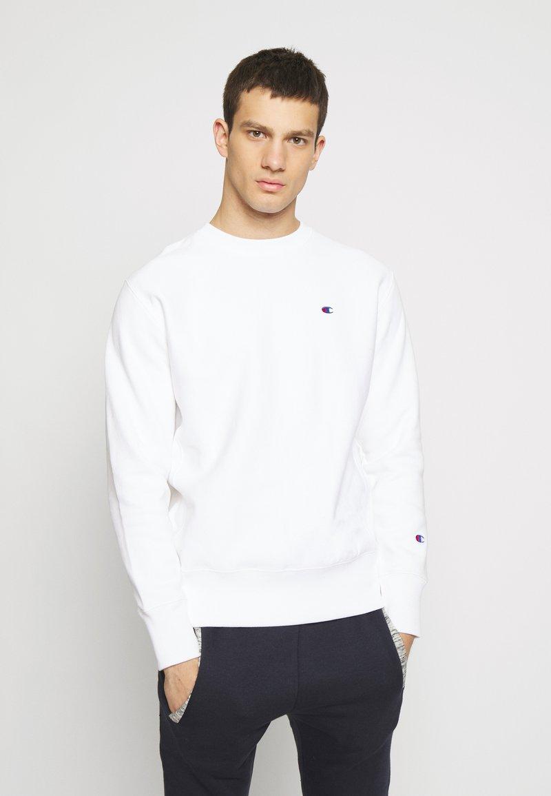 Champion Reverse Weave - BASICS CREWNECK - Sweatshirt - white