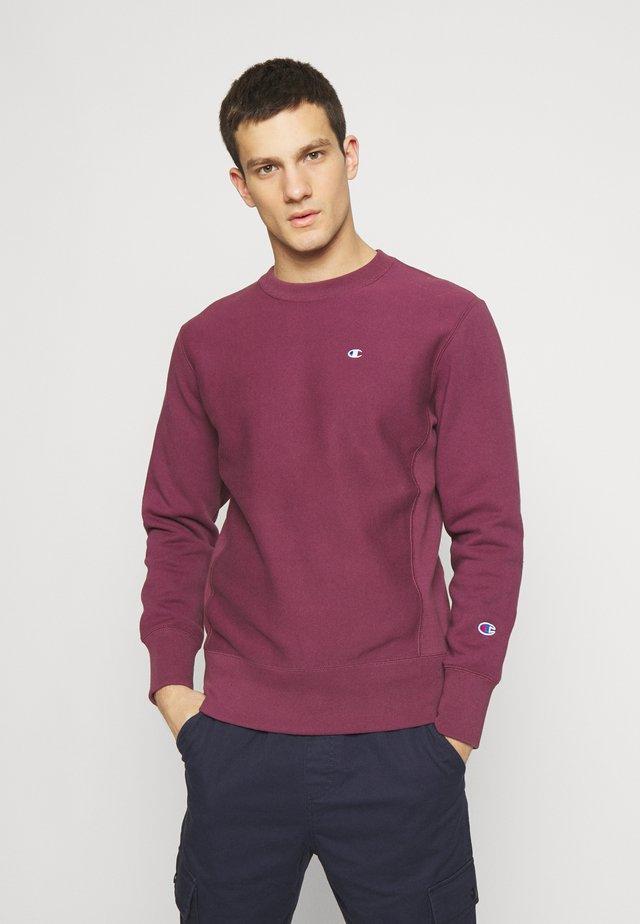 BASICS CREWNECK - Sweatshirt - dark red