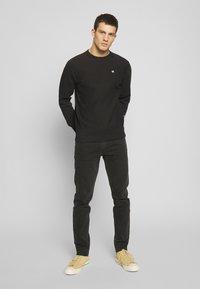 Champion Reverse Weave - BASICS CREWNECK - Collegepaita - black - 1