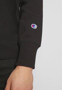 Champion Reverse Weave - BASICS CREWNECK - Collegepaita - black - 5