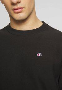 Champion Reverse Weave - BASICS CREWNECK - Collegepaita - black - 3