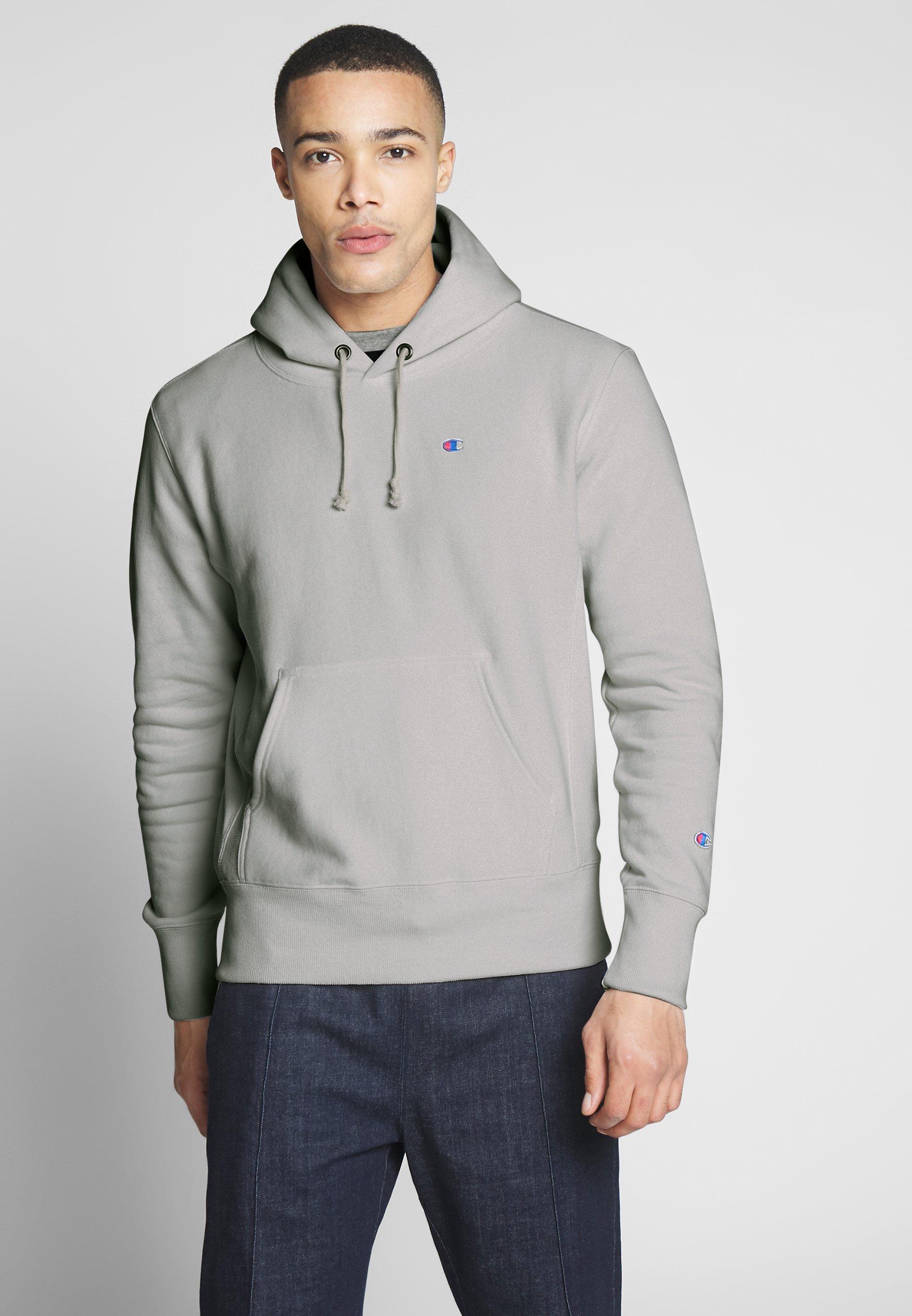 Champion Reverse Weave BASIC HOODED - Bluza z kapturem - vapy
