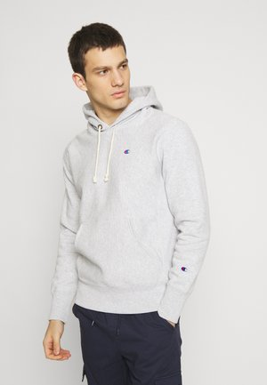 BASIC HOODED - Mikina s kapucí - light grey