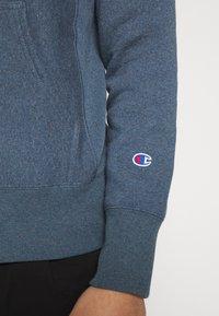 Champion Reverse Weave - BASIC HOODED - Bluza z kapturem - anthracite - 5