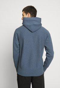 Champion Reverse Weave - BASIC HOODED - Bluza z kapturem - anthracite - 2
