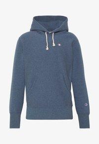Champion Reverse Weave - BASIC HOODED - Bluza z kapturem - anthracite - 4