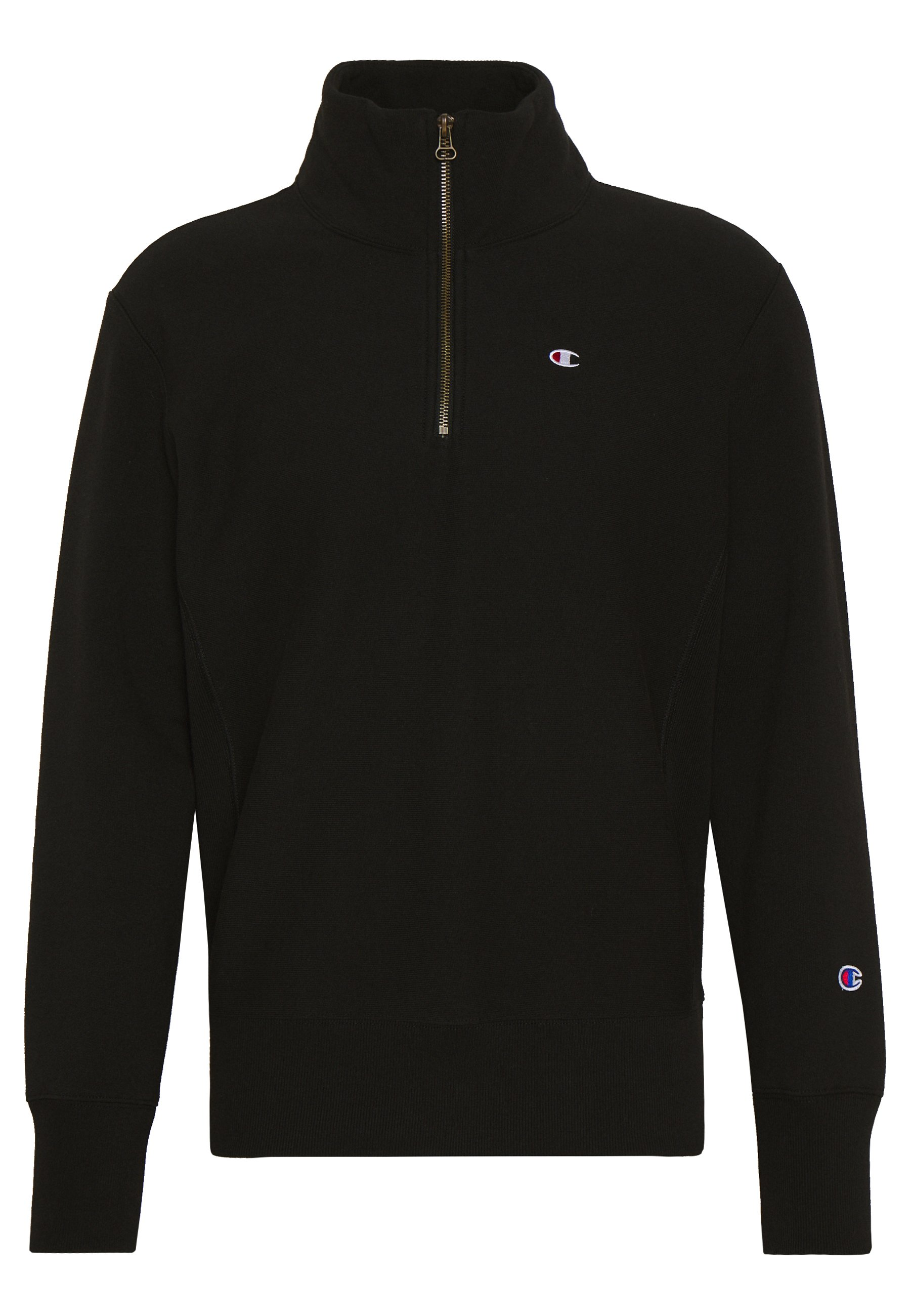 Champion Reverse Weave Half Zip - Sweatshirt Black