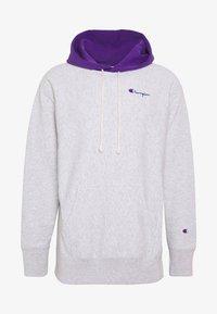 Champion Reverse Weave - HOODED  - Bluza z kapturem - mottled light grey - 4