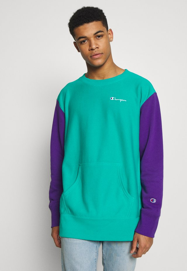 CREWNECK - Collegepaita - mint