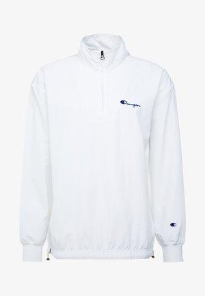 1952 CLASSICS SMALL SCRIPT LOGO HALF ZIP TOP - Lett jakke - white