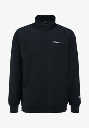 1952 CLASSICS SMALL SCRIPT LOGO HALF ZIP TOP - Summer jacket - black