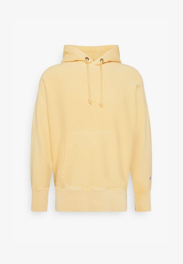 HOODED - Hoodie - light yellow