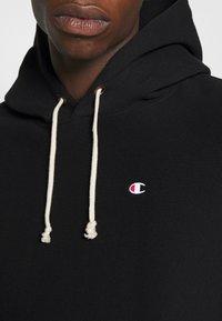 Champion Reverse Weave - HOODED - Hoodie - black - 5