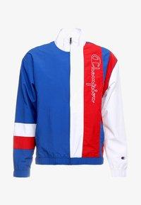 Champion Reverse Weave - PEACHED FEEL CRINKLE - Trainingsvest - blue/white - 4