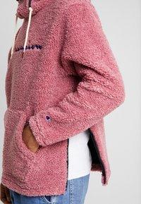 Champion Reverse Weave - HOODED SLIP-ON JACKET - Chaqueta fina - light pink - 6