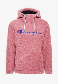 Champion Reverse Weave - HOODED SLIP-ON JACKET - Chaqueta fina - light pink - 5