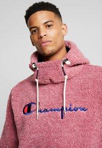 Champion Reverse Weave - HOODED SLIP-ON JACKET - Chaqueta fina - light pink - 3