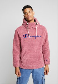 Champion Reverse Weave - HOODED SLIP-ON JACKET - Chaqueta fina - light pink - 0