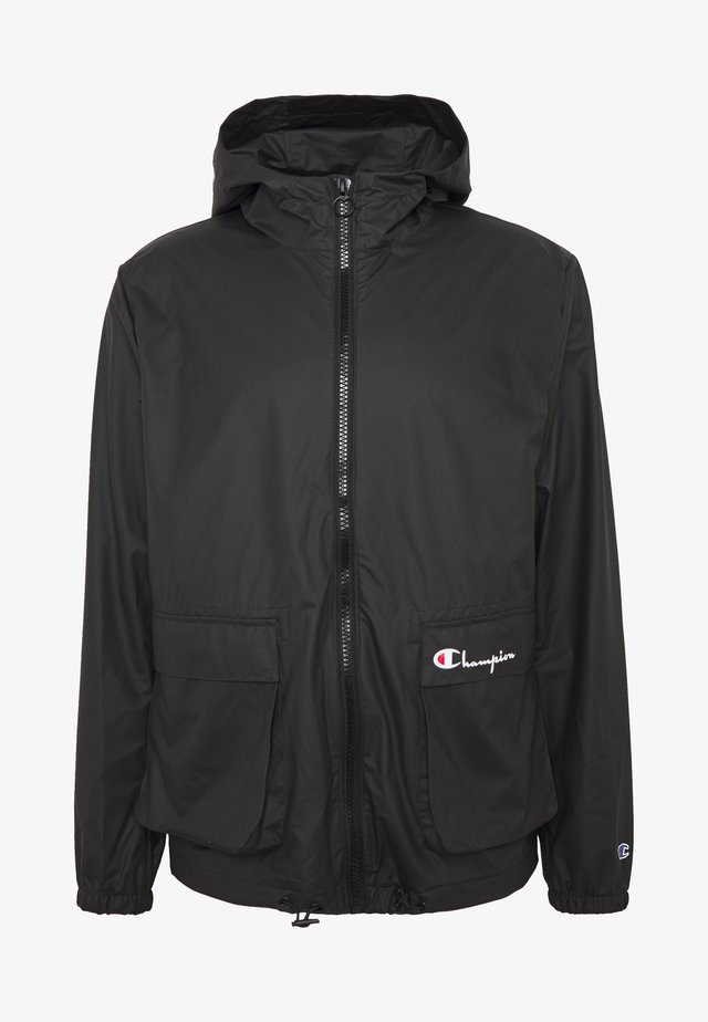 JACKET - Vodotěsná bunda - black