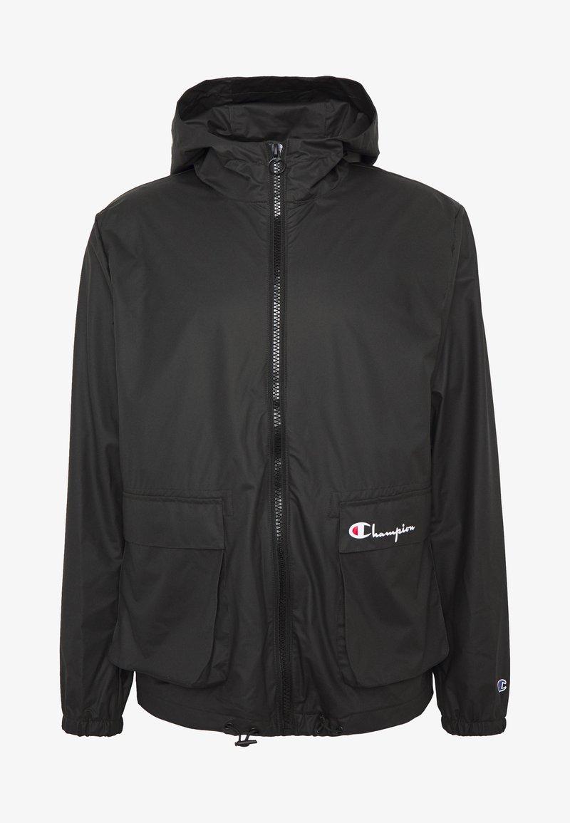 Champion Reverse Weave - JACKET - Regnjakke / vandafvisende jakker - black