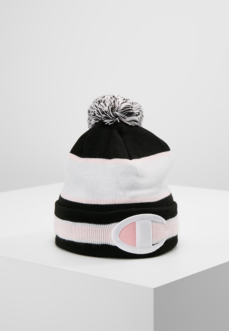 Champion Reverse Weave - BUCKET - Bonnet - black/pink