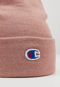 Champion Reverse Weave - LOGO BEANIE - Gorro - pink - 5