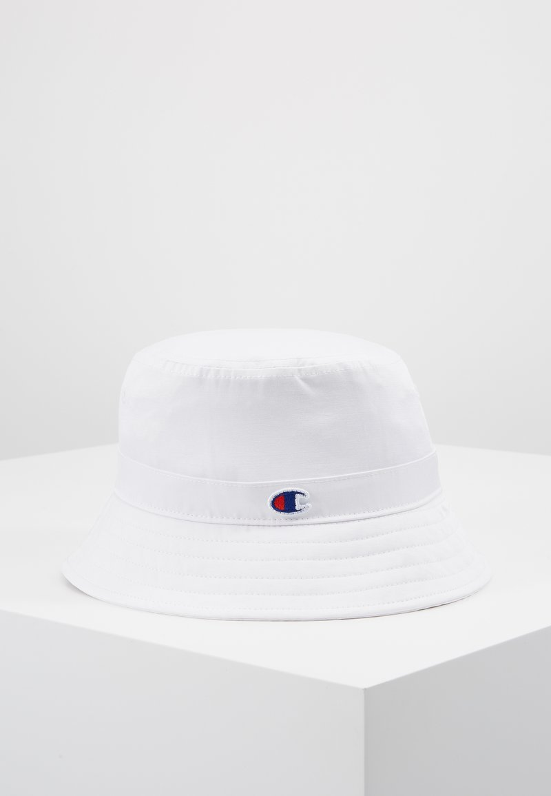 Champion Reverse Weave - BUCKET CAP - Klobouk - white
