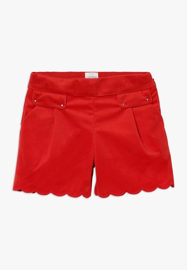 ZEREMONIE - Shorts - rot