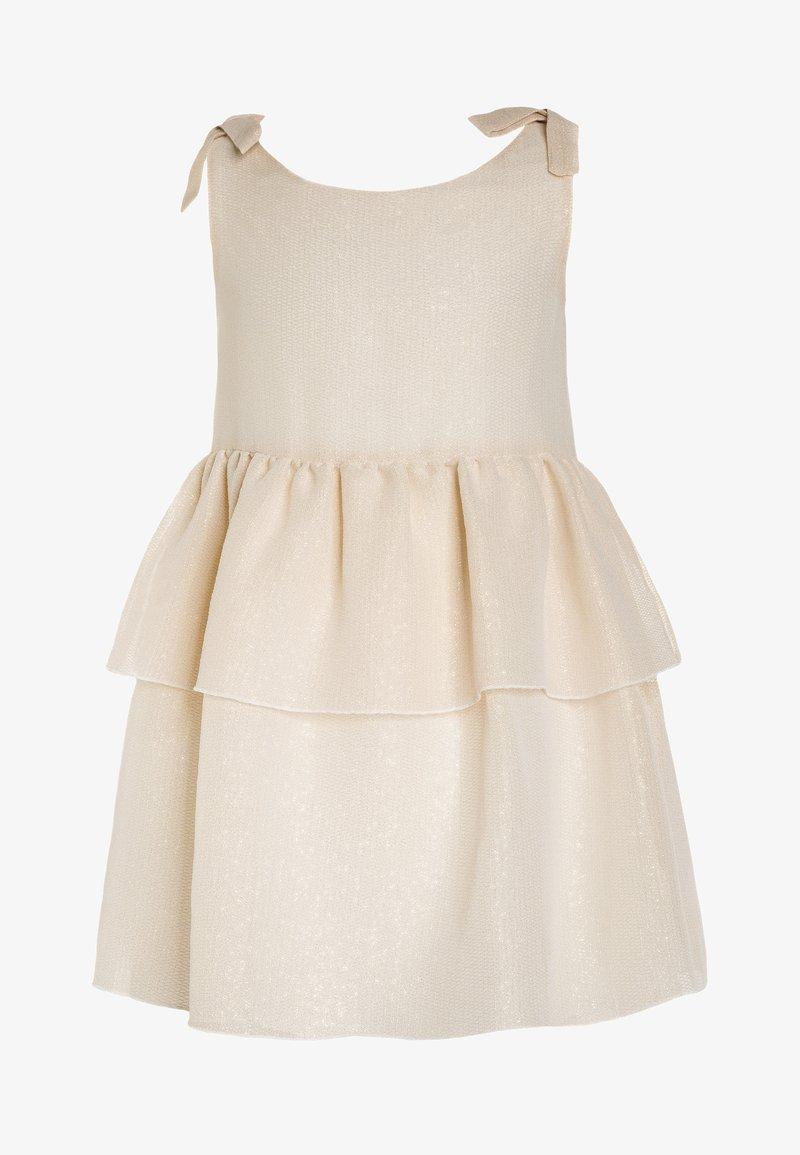 Carrement Beau - ROBE - Cocktail dress / Party dress - ecru/dore