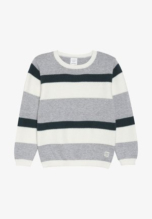 Jumper - mottled grey/green