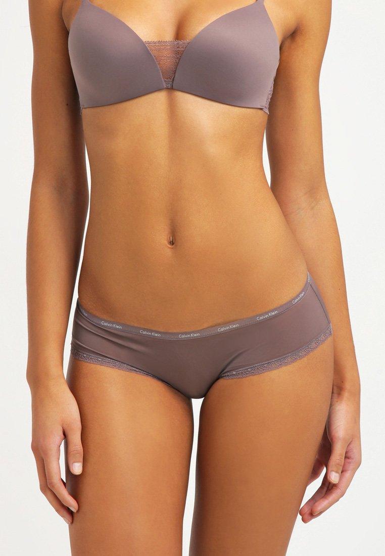 Calvin Klein Underwear - BOTTOMS UP - Slip - smoke
