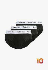 Calvin Klein Underwear - MULTI BRIEF 3 PACK - Slip - black - 4