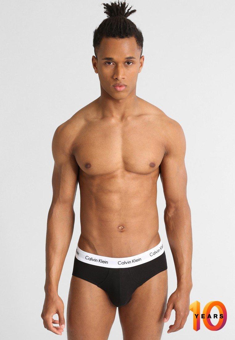 Calvin Klein Underwear - MULTI BRIEF 3 PACK - Slip - black