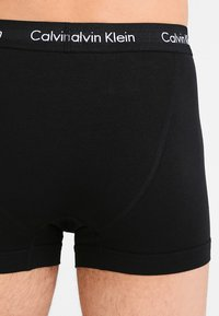 Calvin Klein Underwear - TRUNK 3 PACK - Panty - black