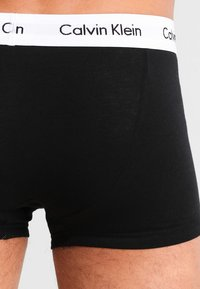 Calvin Klein Underwear - STRETCH LOW RISE TRUNK 3 PACK - Culotte - black