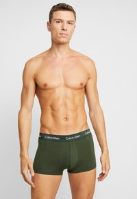 Calvin Klein Underwear - LOW RISE TRUNK 3 PACK - Culotte - pink/blue/black - 1