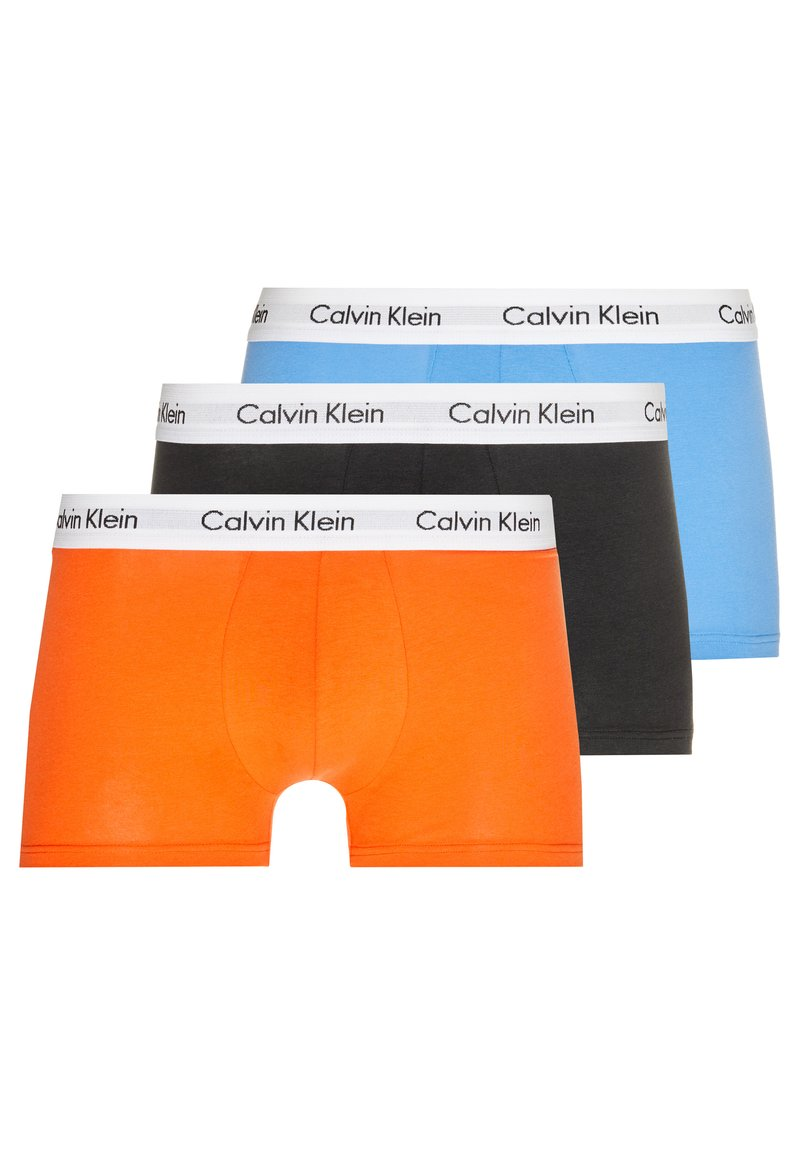 Calvin Klein Underwear - STRETCH LOW RISE TRUNK 3 PACK - Shorty - orange