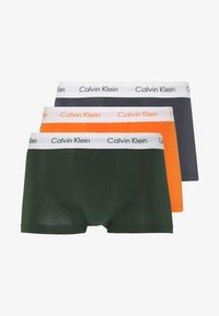 Calvin Klein Underwear - LOW RISE TRUNK 3 PACK - Shorty - khaki - 4