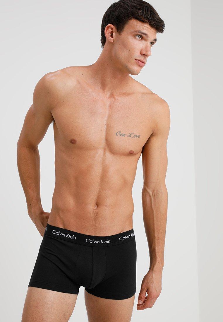Calvin Klein Underwear - STRETCH 3 PACK - Shorty - black