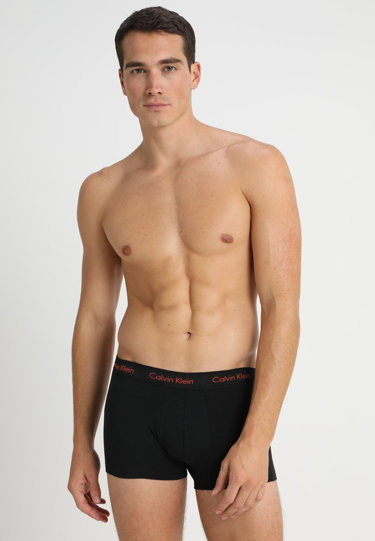 Calvin Klein Underwear - LOW RISE TRUNK 3 PACK - Culotte - black