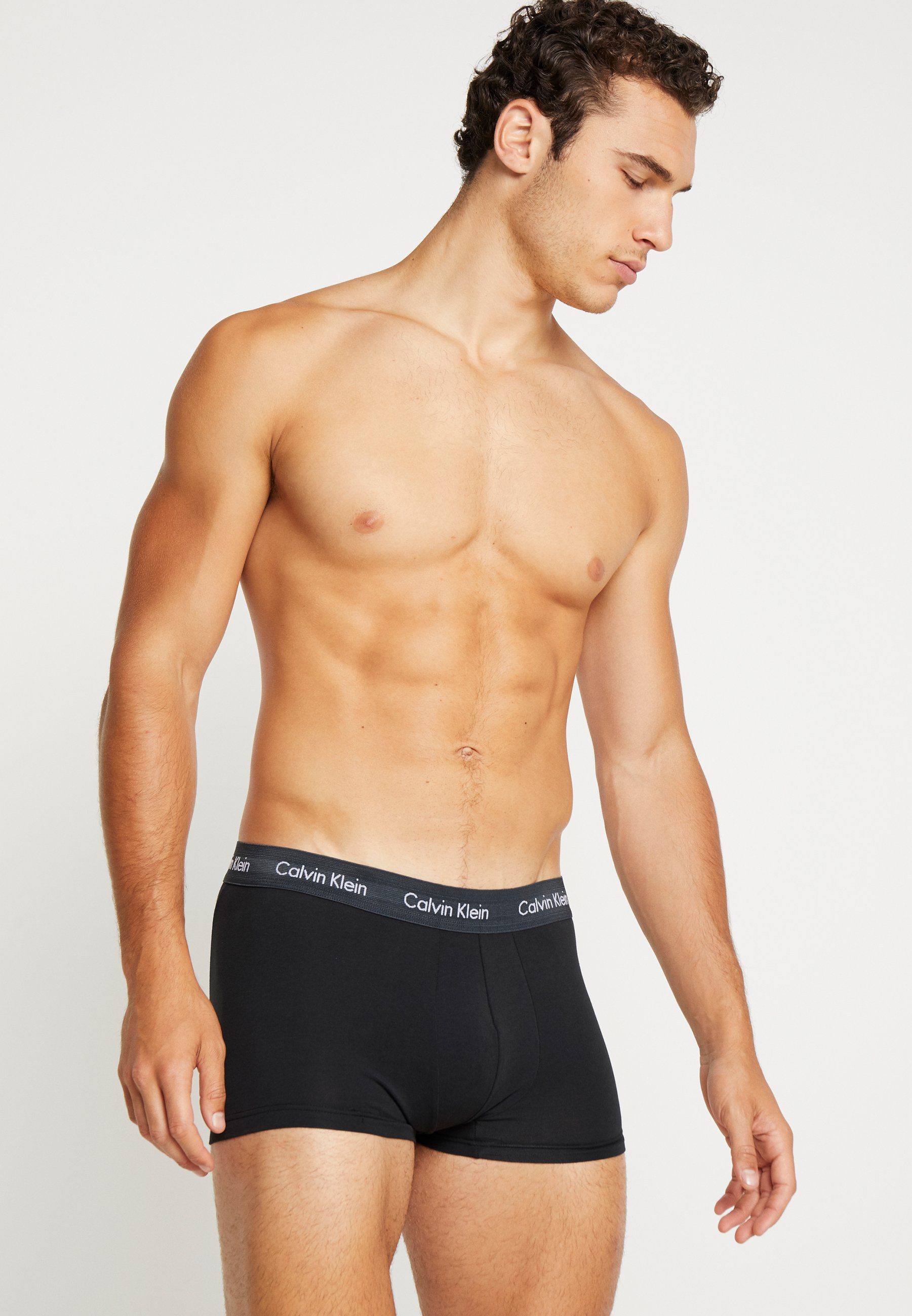 Klein PackShorty Calvin 3 Black Underwear Stretch WDH9E2IY