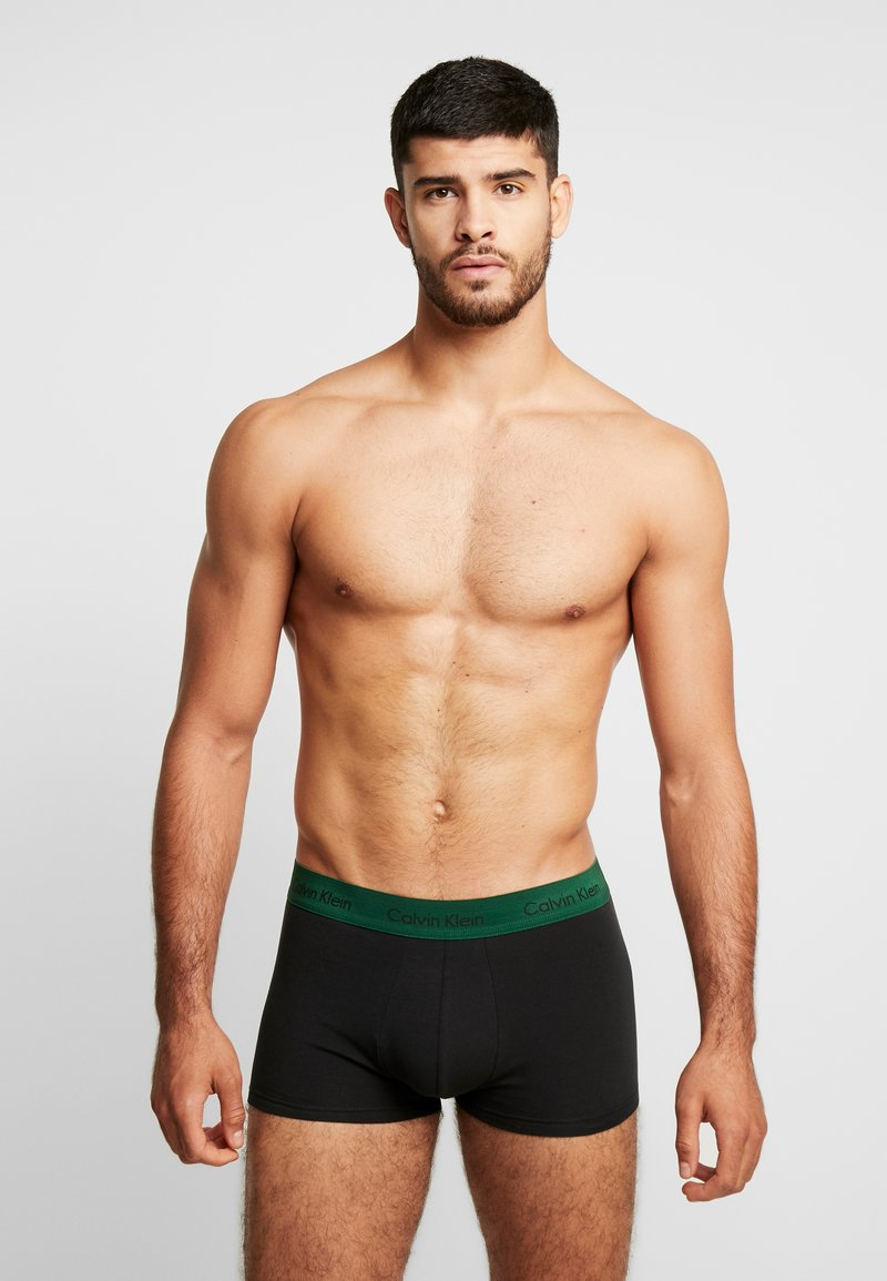 Calvin Klein Underwear - LOW RISE TRUNK 3 PACK - Culotte - black