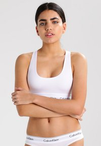 Calvin Klein Underwear - MODERN BRALETTE - Bustino - white - 0