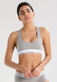 Calvin Klein Underwear - MODERN BRALETTE - Topp - grey heather - 0